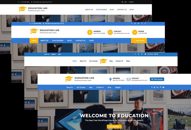 education lms pro wordpress theme