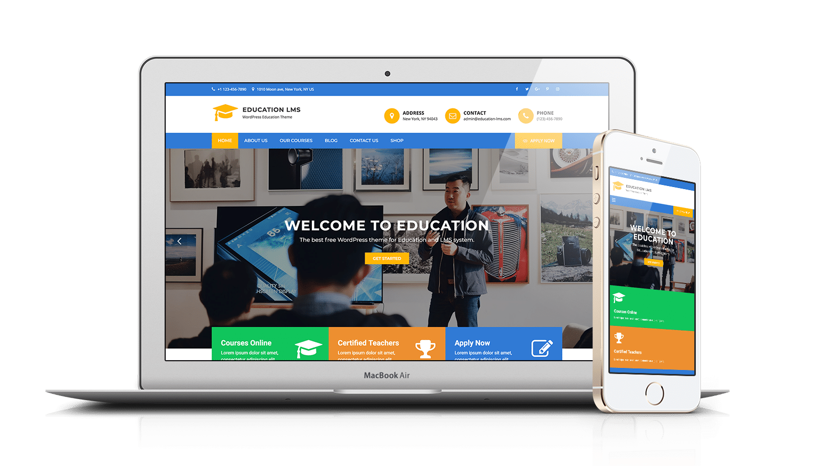 Education LMS Pro WordPress Theme - FilaThemes
