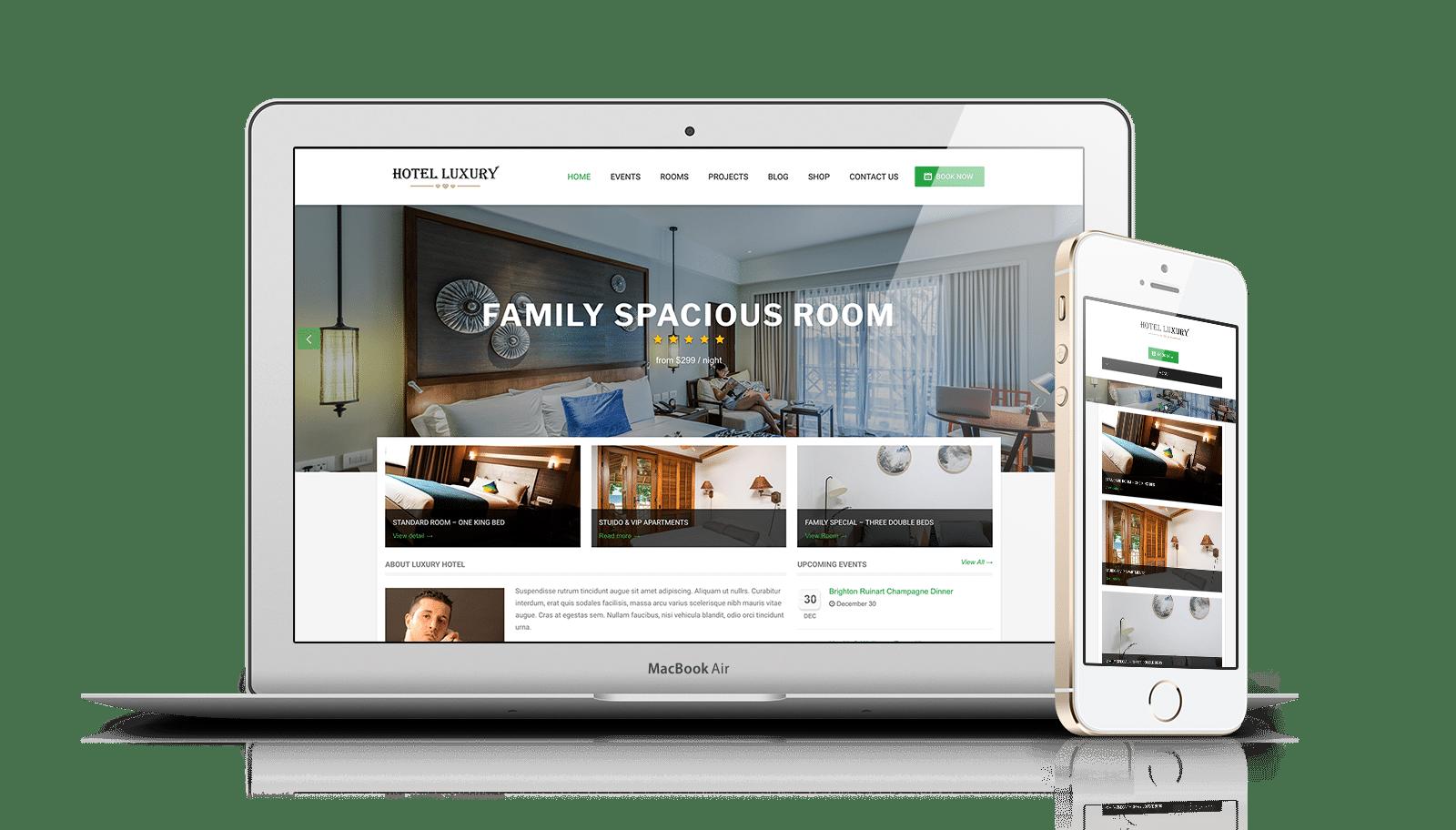 Hotel Luxury Pro